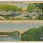 1001  The Narrows, Dells of the Wisconsin River - The Jaws, Show