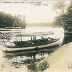 Dells of The Wisconsin. Sugar Bowl in Background. Kilbourn, Wis.