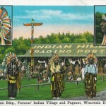 Main Building. Parson's Indian Village and Pageant, Wisconsin De