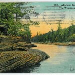 Alligator Rocks, Dells of the Wisconsin River - 3711