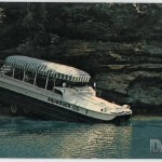 Aquaduck Cruise Tours - Entering Mirror Lake in Dells Country