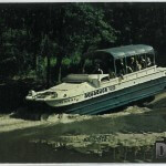 Aquaduck Cruise Tours - Aquaduck entering Mirror Lake in Dells C