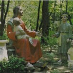 """Jesus and the Children"" Seen at Biblical Gardens"