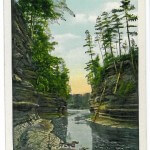 Channel at Steamboat Rock, Dells of the Wisconsin River
