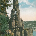 Cleopatra's Needle. Devil's Lake