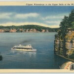 Clipper Winnebago in the Upper Dells of the Wisconsin River