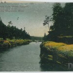 "Up River from Cold Water Canyon, ""Near Clam Banks,"" Dells of the"