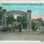 The Dells Boat Co. Free Camp Grounds, The Dells, Kilbourn, Wis.