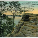 Devil's Anvil, Dells of The Wis. River