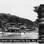 At Hawk's Bill Aboard the Duck. Wis. Dells, Wis.