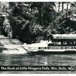 The Duck at Little Niagra Falls. Wis. Dells, Wis.