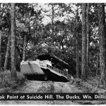Last Look Point at Suicide Hill. The Ducks, Wis. Dells, Wis.