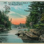 Foot of the Narrows, Dells of the Wisconsin River - 3708