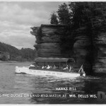 Hawks Bill - Ride the Ducks on land and water at Wis. Dells, Wis