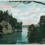 High Rock and Romance Cliff, Dells of the Wisconsin, Kilbourn Ci
