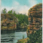 High Rock and Romance Cliff, Dells of the Wisconsin River