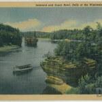 Inkstand and Sugar Bowl, Dells of the Wisconsin River, Wis.