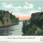 The Jaws, Dells of the Wisconsin River at Kilbourn, Wis.
