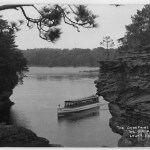 "The 'Josephine' at "" The Old River Bed"" - Lower Dells"