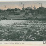 Power House and Portion of Dam, Kilbourn, Wis.