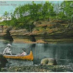Lone Rock, Dells of the Wisconsin River
