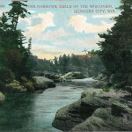 The Narrows, Dells of The Wisconsin, Kilbourn City, Wis.