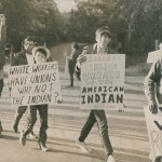 Native Americans Protest the Need for a Union