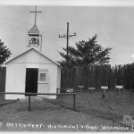 Church at Northwest Settlement - Historical Village - Wisconsin