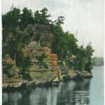 Romance Cliff, Dells of the Wisconsin River