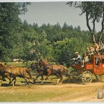 Stagecoach Ride at Ft. Dells - Wisconsin Dells, Wisconsin