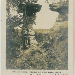 Stand Rock - Dells of the Wisconsin - 1907