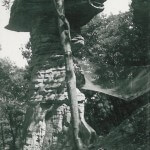 Stand Rock. Dells of The Wisconsin River. 2