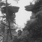 Stand Rock. Dells of The Wisconsin. 9-3-1921
