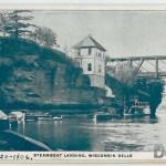 Steamboat Landing, Wisconsin Dells - 7-20-1906