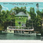 Steamer Winnebago at the Dells Boat Co. Landing, The Dells, Kilb