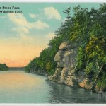 The Stone Face, Dells of the Wisconsin RIver. 3706