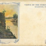 Views of the Wisconsin Dells, Kilbourn, Wisconsin - Chimney Rock