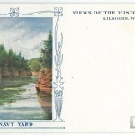 Views of the Wisconsin Dells, Kilbourn, Wisconsin - Navy Yard
