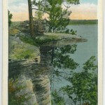 Visor Ledge, Dells of the Wisconsin River-123856