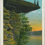 Visor Ledge, Dells of the Wisconsin River - 3717