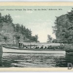 """White Eagle"" Passing through The Jaws, ""At the Dells,"" Kilbourn"