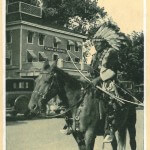 Winnebago Indian Chief at Finch Hotel