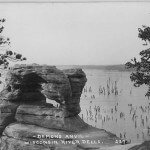 Demon's Anvil. Wisconsin River Dells.  227