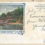 Larks Hotel - Views of the Wisconsin Dells, Kilbourn, Wis.