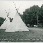 Wigwam and Indian Village at Parson's Trading Post