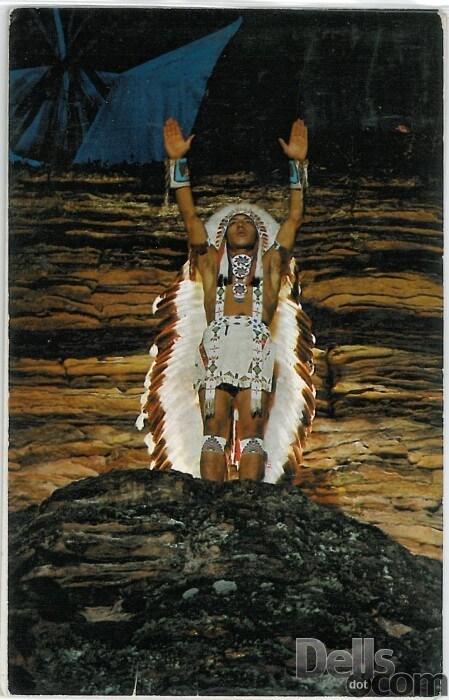 Vintage Wisconsin Dells Native Americans