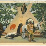 Winnebago Indians with Travois, The Dells of the Wisconsin River