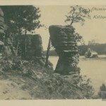 "Chimney Rock - ""Dells"" Kilborn,Wis.   No 150"