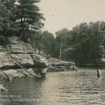 High Rock Dells of the Wisconsin River. Kilborn, Wis.  3567