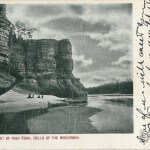 At the Foot of High Rock, Dells of the Wisconsin